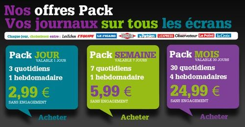 Offres pack