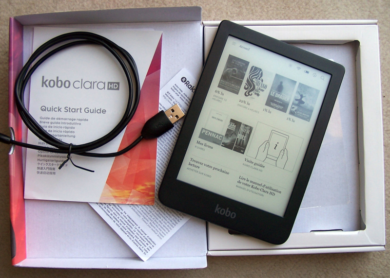 Kobo Clara HD : test complet - Aldus - le blog du livre numérique